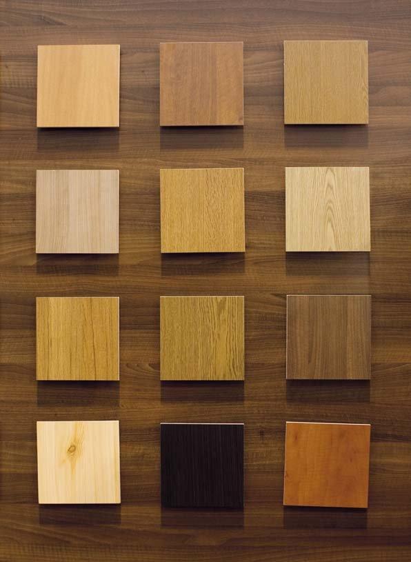 Finiture porte basculanti Velox L legno